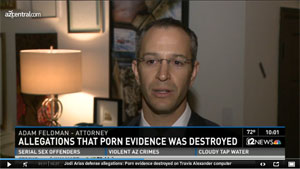 Adam Feldman - Attorney, Interviewed by channel 12 news